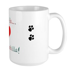 Chinchilla Love Is Mug