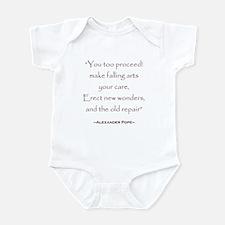 Pope Quote Infant Bodysuit