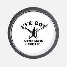 I've got Gymnastics skills Wall Clock