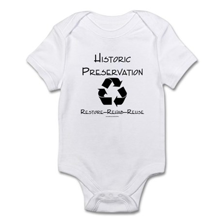 Preservation is Recycling Infant Bodysuit
