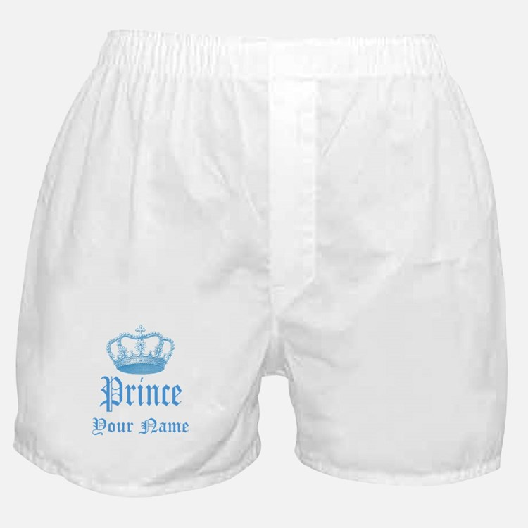 Custom Prince Boxer Shorts