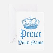 Custom Prince Greeting Card