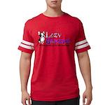 lazygamerz 2017 Mens Football Shirt