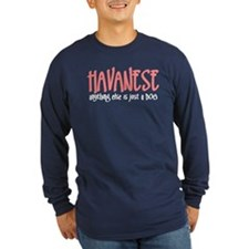 Havanese JUST A DOG T