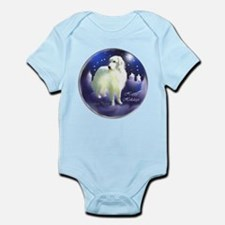 Great Pyrenees Christmas Infant Bodysuit