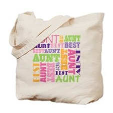 Best Aunt Design Gift Tote Bag