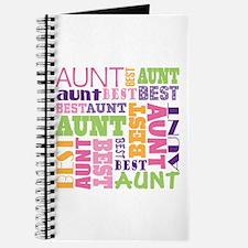 Best Aunt Design Gift Journal