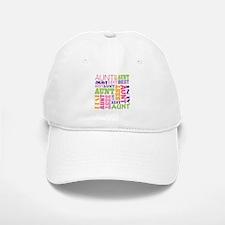 Best Aunt Design Gift Baseball Baseball Cap