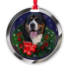 Greater Swiss Mtn Dog Ornament