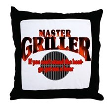 Master Griller Throw Pillow
