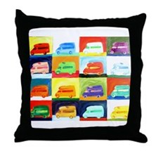 Funny Airstream Throw Pillow