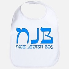 NJB - Nice Jewish Boy Bib