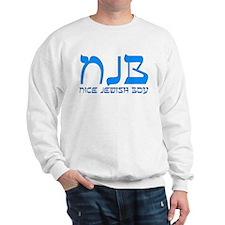 NJB - Nice Jewish Boy Sweatshirt