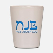 NJB - Nice Jewish Boy Shot Glass