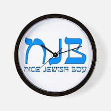NJB - Nice Jewish Boy Wall Clock