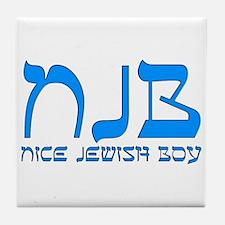 NJB - Nice Jewish Boy Tile Coaster