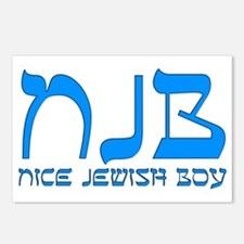 NJB - Nice Jewish Boy Postcards (Package of 8)