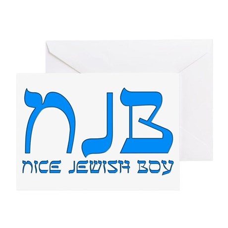 NJB - Nice Jewish Boy Greeting Card