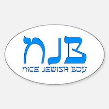 NJB - Nice Jewish Boy Decal