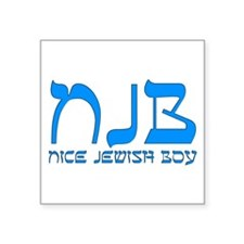 NJB - Nice Jewish Boy Sticker