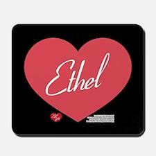Hearts Ethel Mousepad