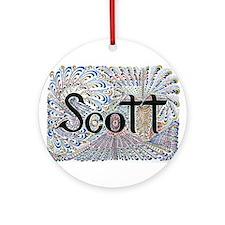 Scott Ornament (Round)