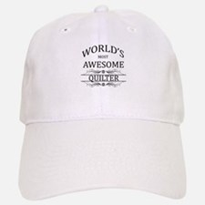 World's Most Awesome Quilter Baseball Baseball Cap