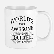 World's Most Awesome Quilter Mug