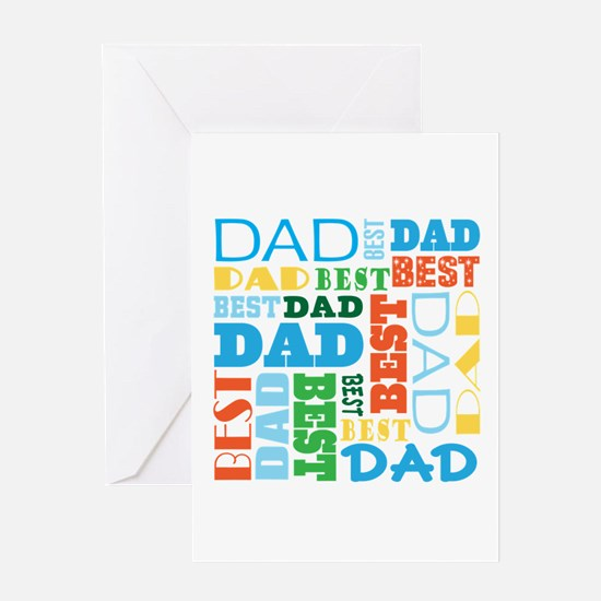 Best Dad Gift Greeting Card