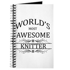World's Most Awesome Knitter Journal