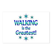 Walking is the Greatest Postcards (Package of 8)