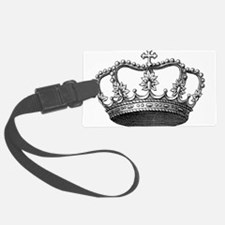vintage crown Luggage Tag