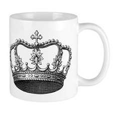vintage crown Mug