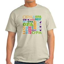 Best Opa Gift T-Shirt