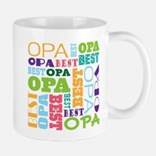 Best Opa Gift Small Mugs