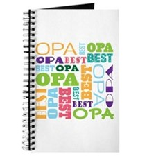 Best Opa Gift Journal