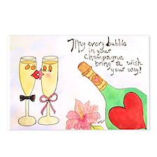 I love Celebrations! Postcards (Package of 8)