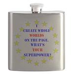 Superhero Writer Flask