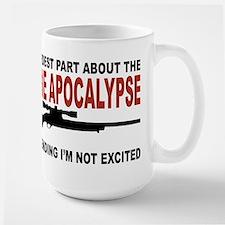 Zombie Apocalypse Large Mug