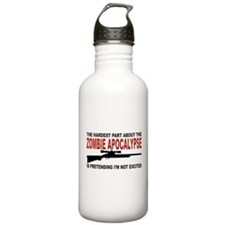 Zombie Apocalypse Sports Water Bottle