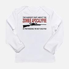 Zombie Apocalypse Long Sleeve Infant T-Shirt