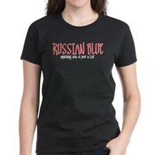 Russian Blue JUST A CAT Tee