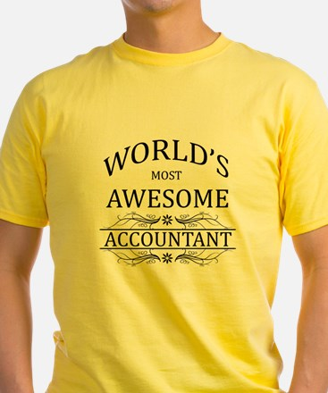 World's Most Awesome Accountant T