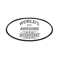 World's Most Awesome Accountant Patches