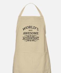 World's Most Awesome Accountant Apron