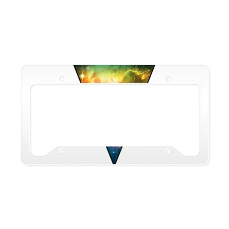 Cool Triangle License Plate Holder