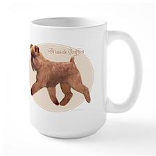 'Griff Oval/Natural Mug