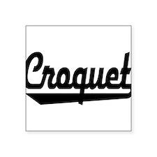 Croquet Sticker