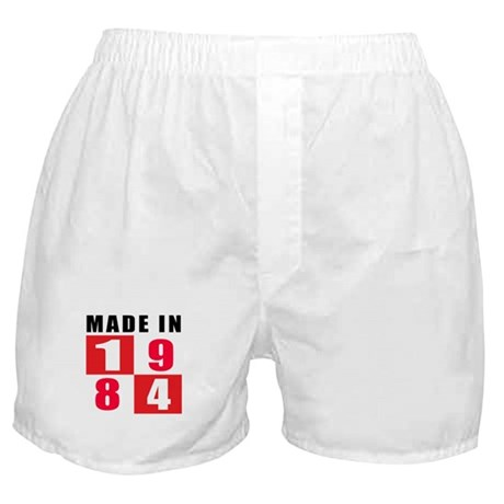 Made In 1984 Boxer Shorts