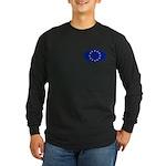 EU Oval Flag Long Sleeve Dark T-Shirt
